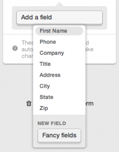 adding a fancy field to your signup form